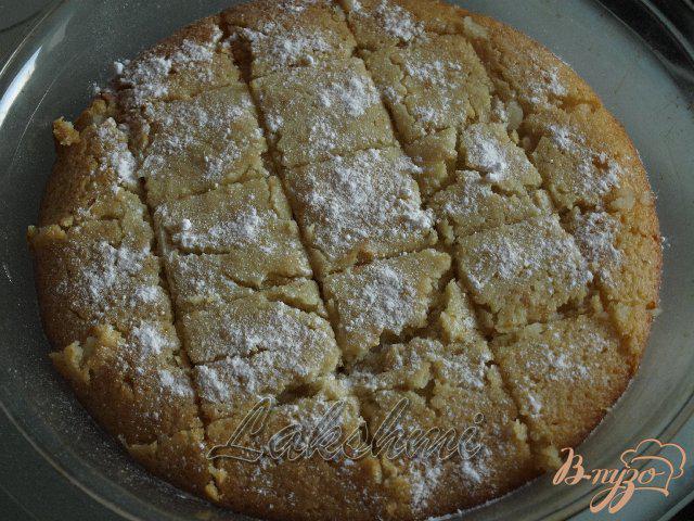 Фото приготовление рецепта: Басбуса - арабская сладость шаг №4