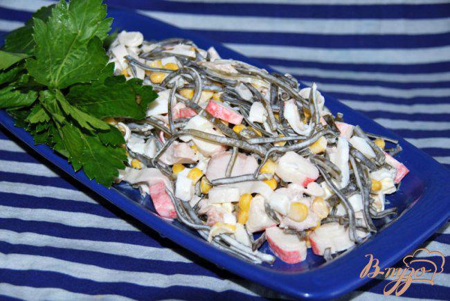 Фото приготовление рецепта: Салат «Русалочка» шаг №6