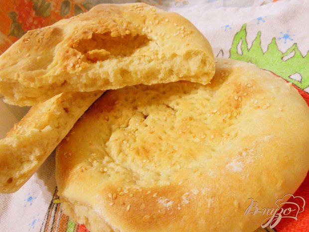 Фото приготовление рецепта: Тандыр - наан .... Узбекская лепешка шаг №7