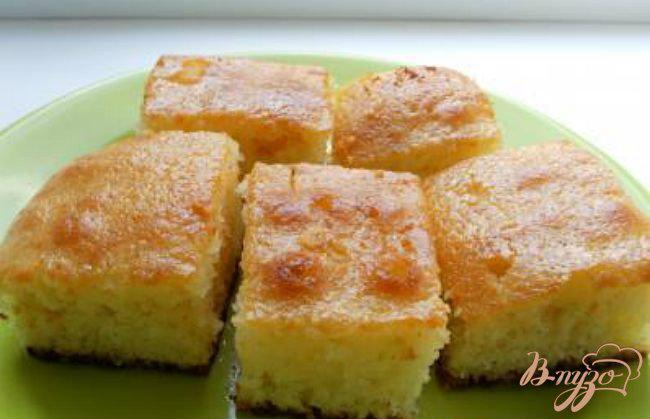 Фото приготовление рецепта: «Ревани» - турецкий пирог в сиропе шаг №5