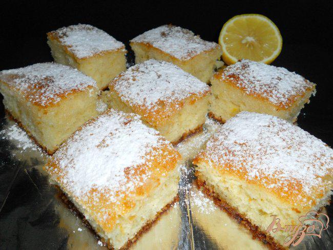 Фото приготовление рецепта: «Ревани» - турецкий пирог в сиропе шаг №6