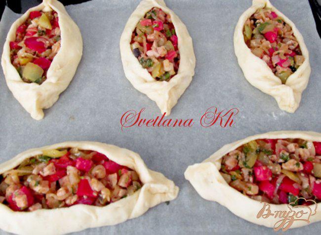 Фото приготовление рецепта: Турецкие пиде шаг №8