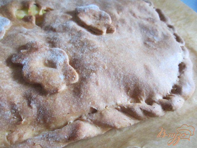 Фото приготовление рецепта: Пирог «Курник» шаг №8