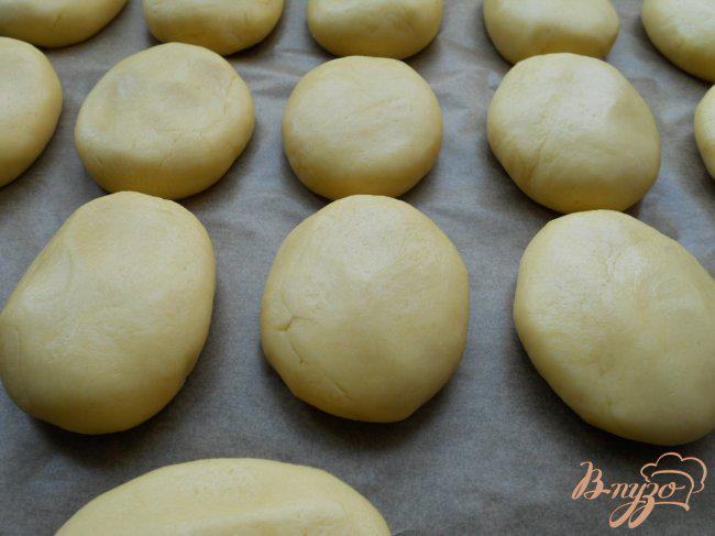 Фото приготовление рецепта: Печенье-пирожное «Персики» шаг №4