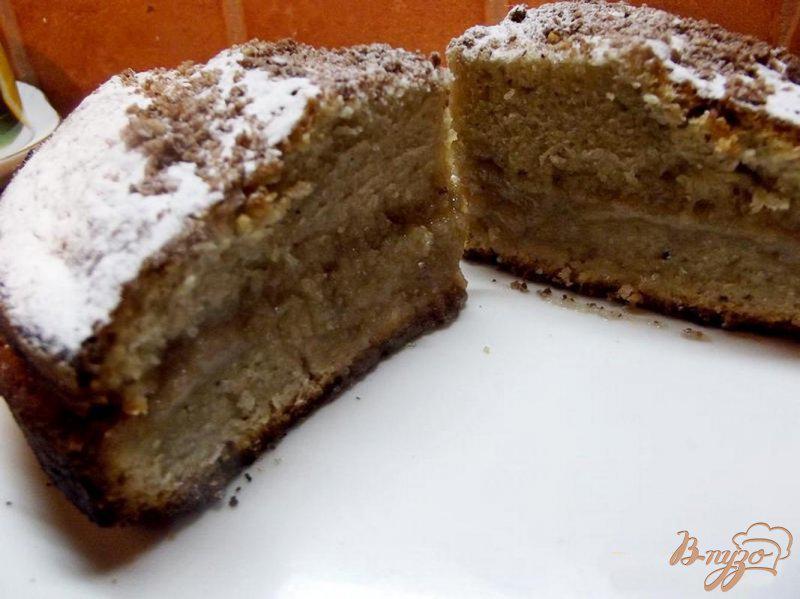 простой кофейный пирог рецепт с фото полу валялись осколки
