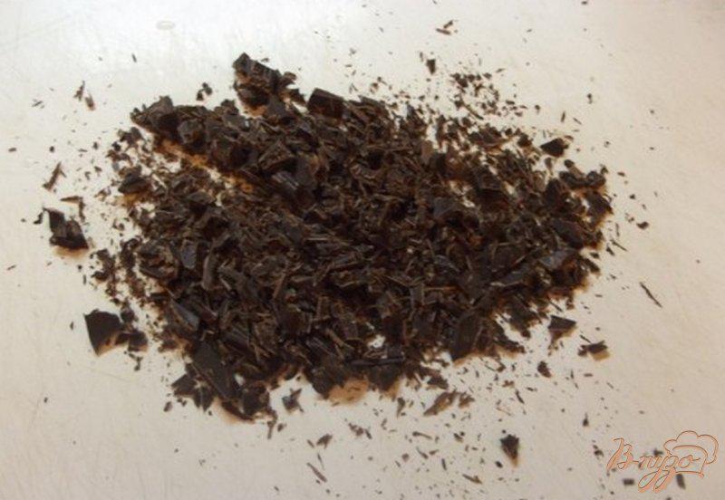Фото приготовление рецепта: Шоколадные пирожные с кремом шаг №4