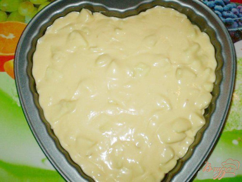 Сливочный пирог с яблоками в духовке - рецепт пошаговый с фото