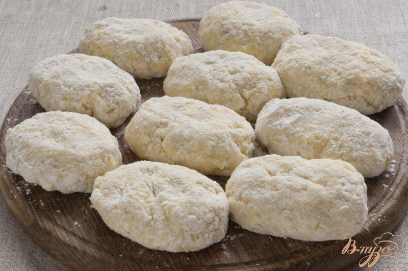 Фото приготовление рецепта: Картофельные сырники шаг №6