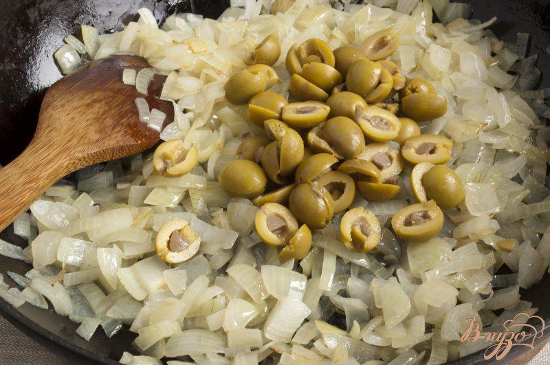 Фото приготовление рецепта: Капоната по-сицилийски шаг №4