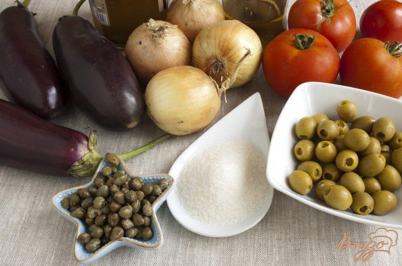 Фото приготовление рецепта: Капоната по-сицилийски шаг №1