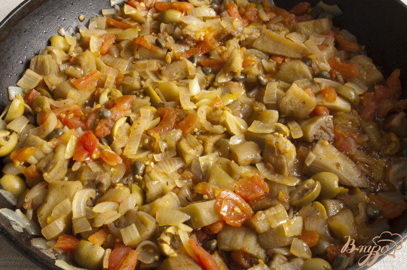 Фото приготовление рецепта: Капоната по-сицилийски шаг №6