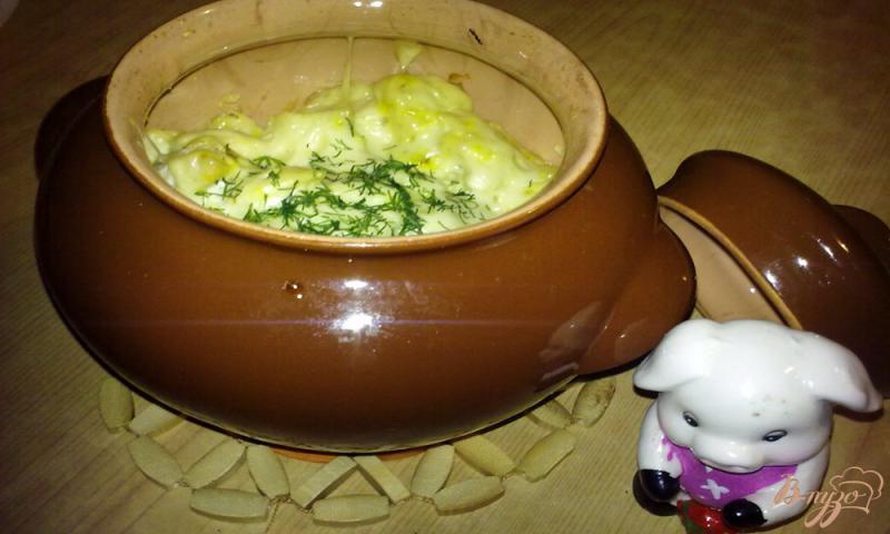 Фото приготовление рецепта: Гратен с курицы шаг №7