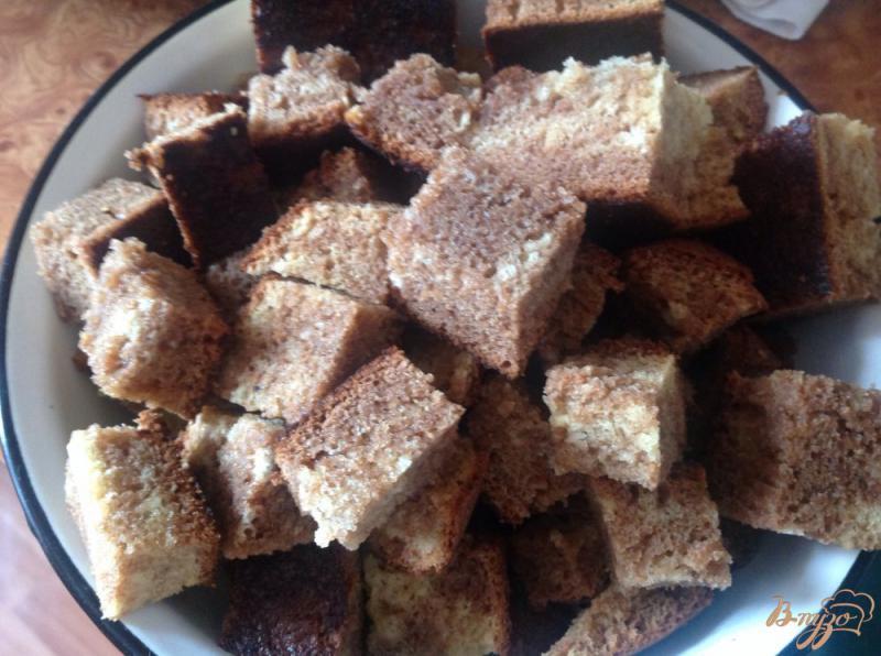 Фото приготовление рецепта: Торт кучерявый пинчер шаг №10