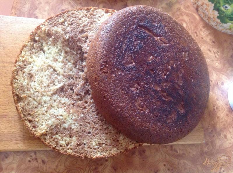 Фото приготовление рецепта: Торт кучерявый пинчер шаг №9