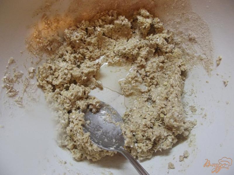 Фото приготовление рецепта: Булочки овсяные с клетчаткой шаг №6