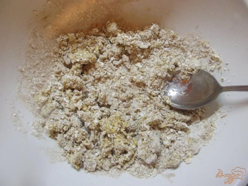 Фото приготовление рецепта: Булочки овсяные с клетчаткой шаг №5