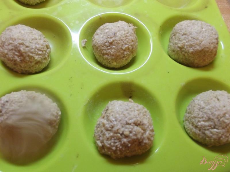 Фото приготовление рецепта: Булочки овсяные с клетчаткой шаг №8