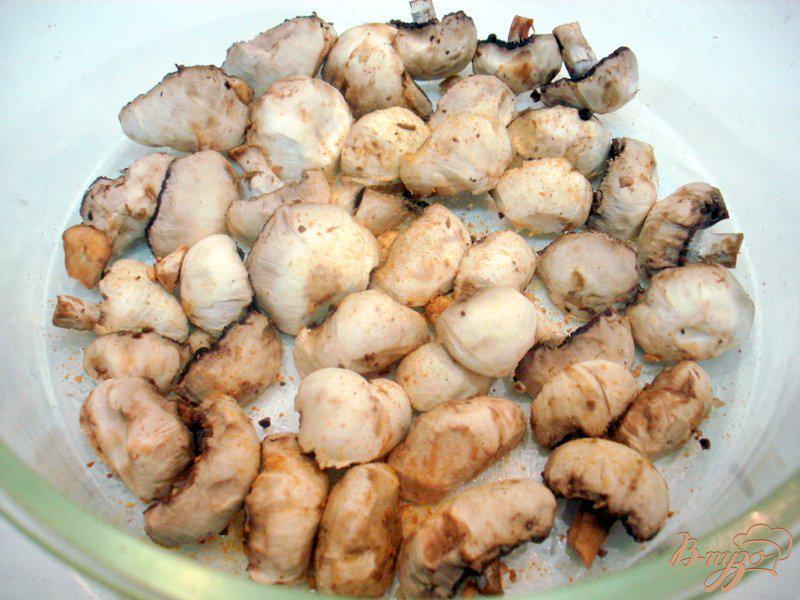 Фото приготовление рецепта: Барабулька с овощами шаг №9