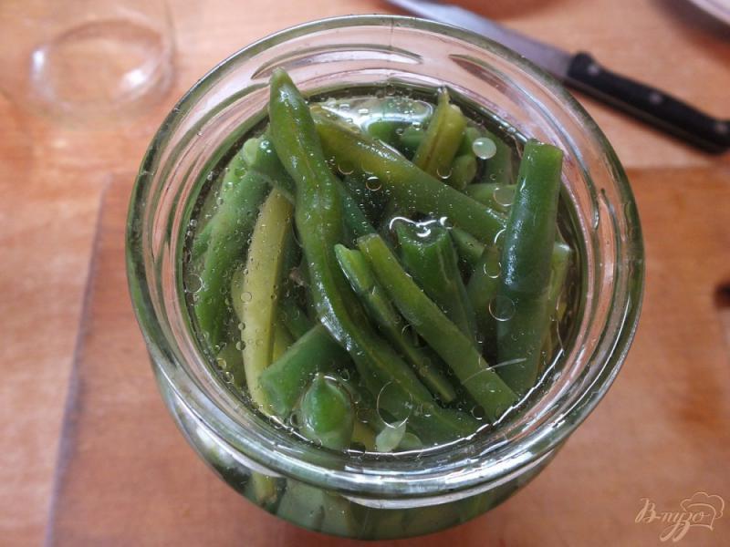 Фото приготовление рецепта: Консервированная спаржевая фасоль в кисло-сладком маринаде шаг №9