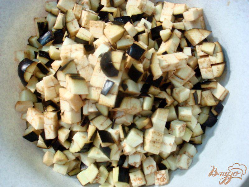 Фото приготовление рецепта: Восточная баклажанная икра шаг №5