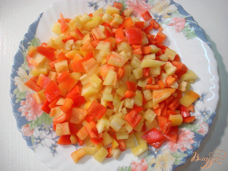 Фото приготовление рецепта: Восточная баклажанная икра шаг №3