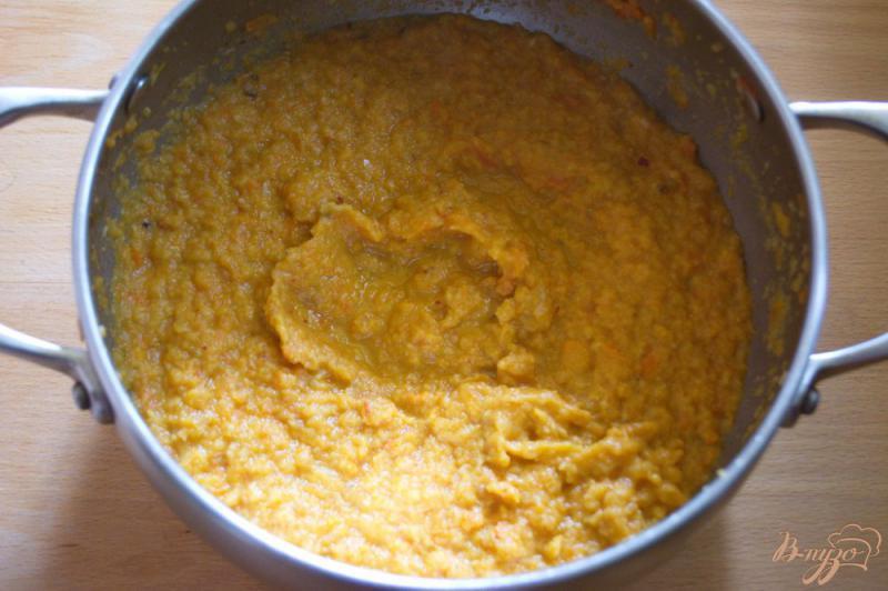 Фото приготовление рецепта: Аджика из кабачка с добавлением яблок шаг №5