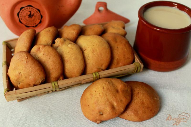 Фото приготовление рецепта: Медовое печенье с имбирем шаг №8