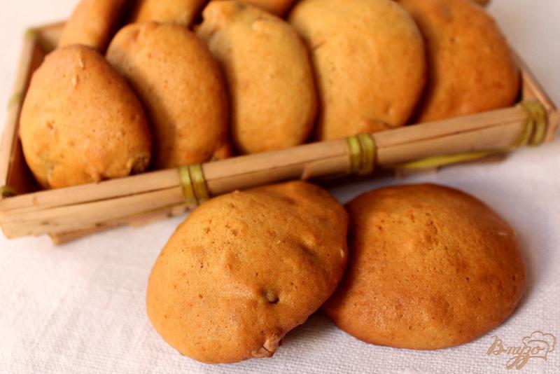Фото приготовление рецепта: Медовое печенье с имбирем шаг №7