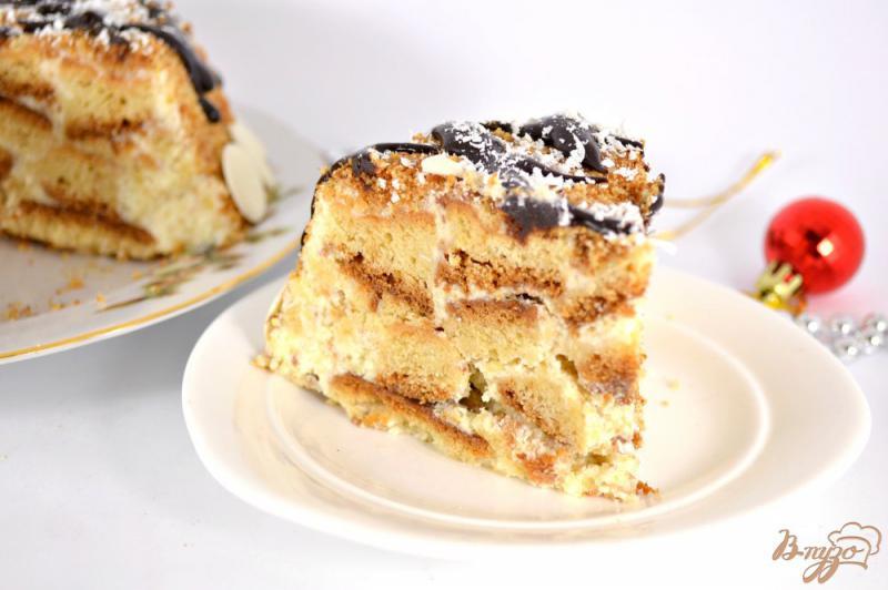 Фото приготовление рецепта: Торт «Пломбир» шаг №10