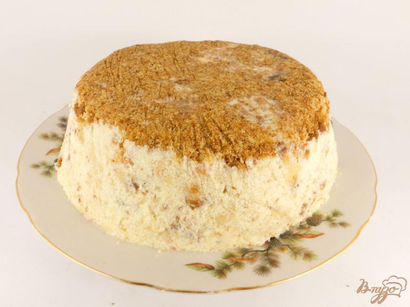 Фото приготовление рецепта: Торт «Пломбир» шаг №9