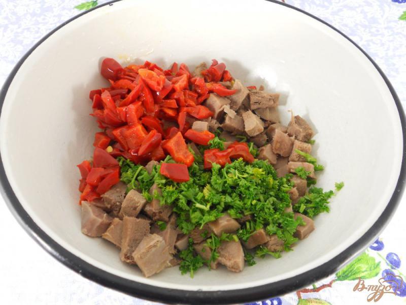 Фото приготовление рецепта: Террин из свиного языка шаг №1