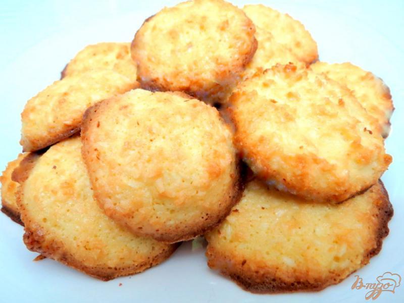 Фото приготовление рецепта: Печенье кокосанки шаг №8