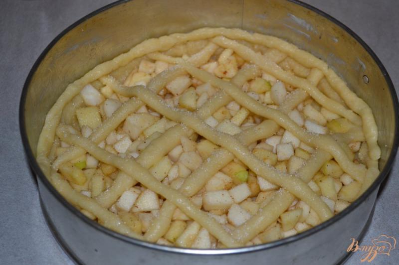 Пирожки из песочного теста с яблоками и корицей в духовке - рецепт пошаговый с фото