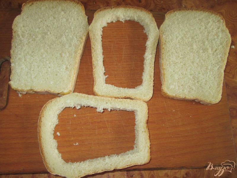 Фото приготовление рецепта: Горячие бутерброды с яйцом шаг №1