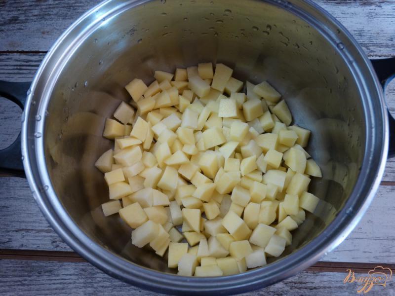 Фото приготовление рецепта: Окрошка Оригинальная на картофельном отваре шаг №1