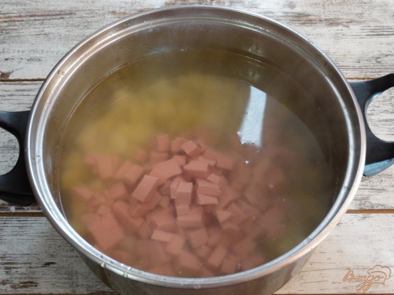 Фото приготовление рецепта: Окрошка Оригинальная на картофельном отваре шаг №3