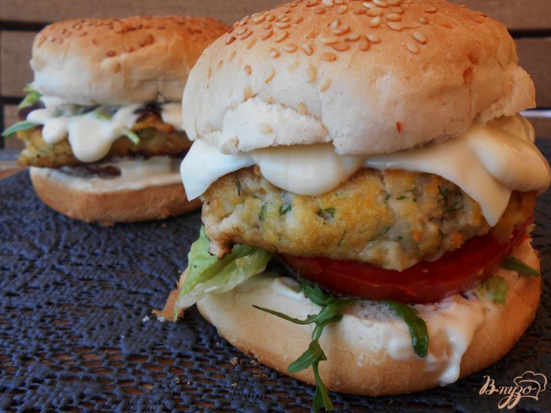 Рыбный бургер рецепт с фото