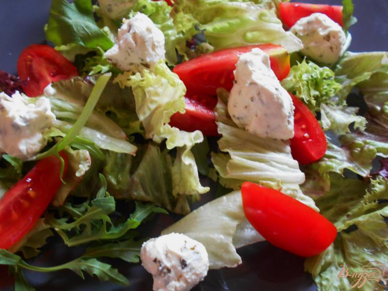 Фото приготовление рецепта: Итальянский салат « Пармеджано» шаг №6