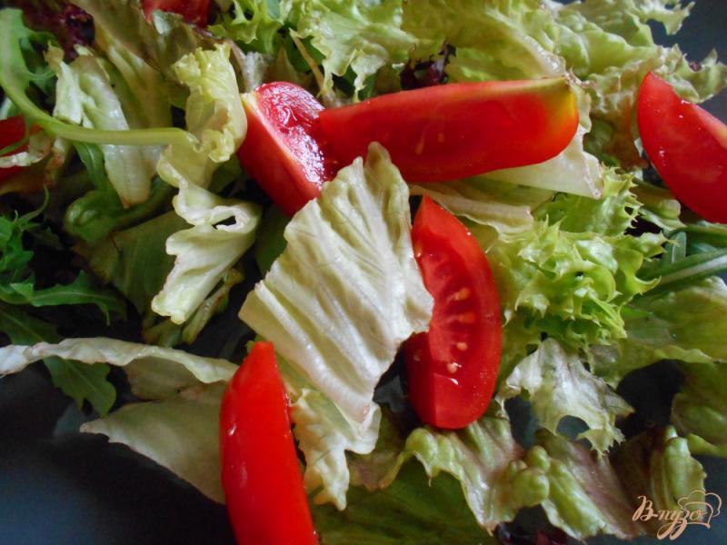 Фото приготовление рецепта: Итальянский салат « Пармеджано» шаг №5