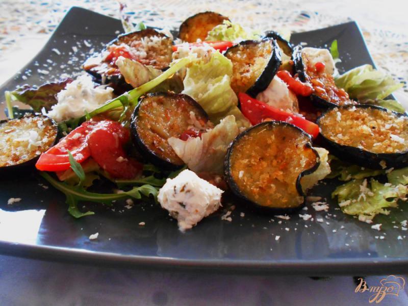 Фото приготовление рецепта: Итальянский салат « Пармеджано» шаг №10