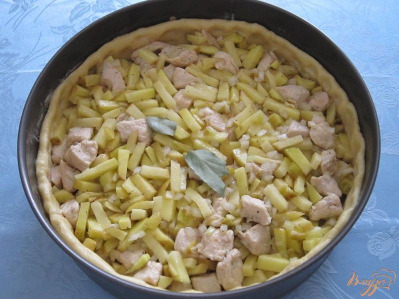 Фото приготовление рецепта: Курник шаг №9