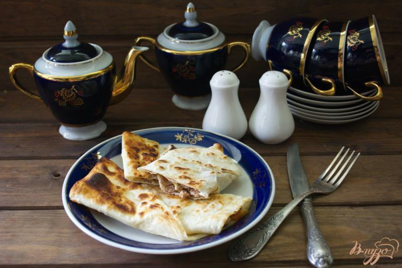 Фото приготовление рецепта: Ленивый лахмаджун шаг №5