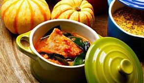 фото рецепта: Рагу из тыквы и перца