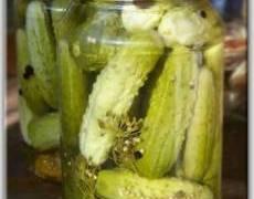 фото рецепта: Огурцы маринованные острые