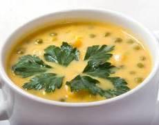 фото рецепта: Гороховый суп с грибами