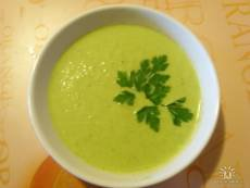 фото рецепта: Крем-суп с брокколи и цветной капустой