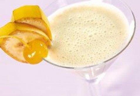 фото рецепта: Банановый коктейль с коньяком