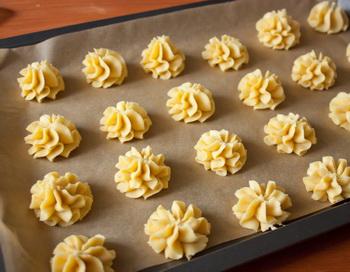 рецепт печенья для кондитерского шприца с фото
