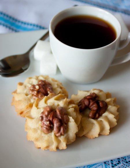 Рецепт Мандариновое печенье