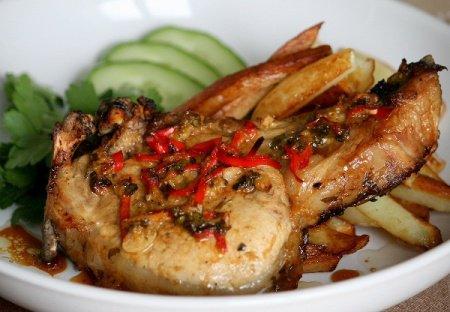 Рецепт Свиные отбивные в интересном маринаде